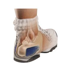 Brown Medical Heel Hugger with Gel