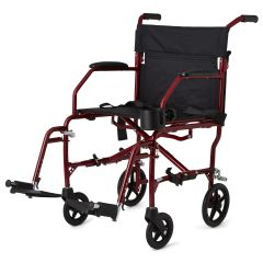 "Ultralight Transport Chair - 19"" wide seat"