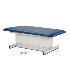 Clinton Industries Shrouded Bariatric Power Table With One Piece Top