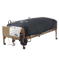 Invacare microAir Alternating Lateral Rotation Mattress with On-Demand Low Air Loss and Compressor
