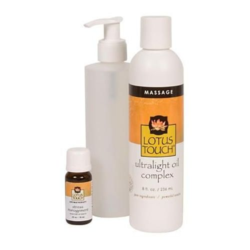 Lotus Touch Stress Management Massage Oil Package Model 246 0283