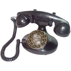 Paramount Alexis 1922 Decorator Black Phone