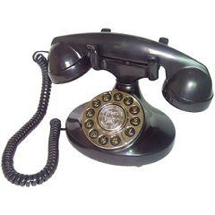 Alexis 1922 Decorator Black Phone