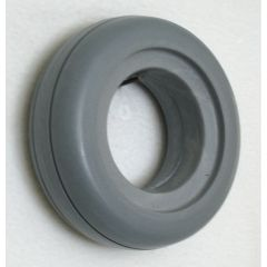 "New Solutions Invacare Urethane 2 Rib Tire 6"" X 2"" Fits Most 2-Piece Wheels"