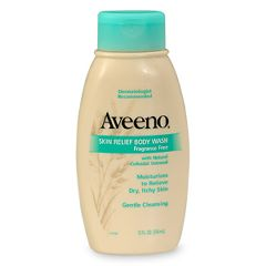 Aveeno Skin Relief Body Wash - 12 oz, Fragrance Free