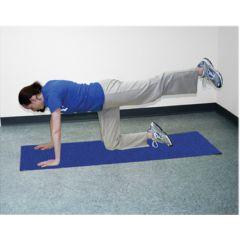 Cando Exercise Mat - Per Yoga Mat - Blue, 68 X 24 X 0.12 Inch