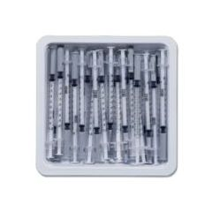 "PrecisionGlide 1/2 mL Allergist Tray 27g x 3/8"" PrecisionGlide Needle"