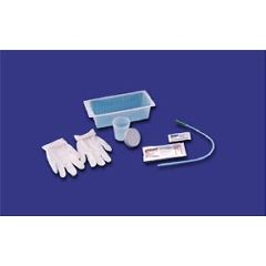 Rusch Intermittent Catheter Trays with 14 Fr. Red Rubber Catheter