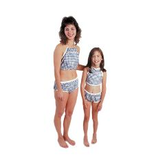 Dipsters Patient Wear, Girl's Bibb-Top Bikini
