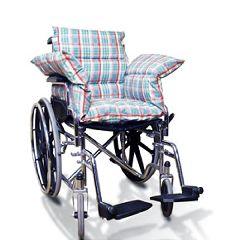 NYOrtho Wheelchair Comfort Seat Plaid