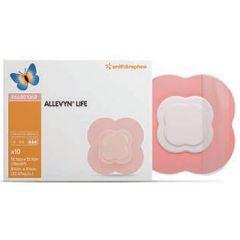 Smith & Nephew Allevyn Life Adhesive Gel Foam Dressing - Quadrilobe
