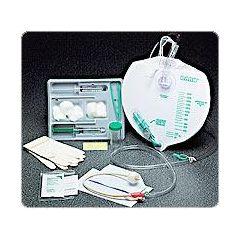 Bardex Infection Control Foley Trays w/Anti-Reflux Chamber Drainage Bag