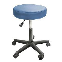Custom Craftworks Solutions Swivel Rolling Stool without Back