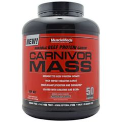 Muscle Meds Carnivor Mass - Chocolate Fudge