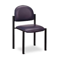 Clinton Industries Clinton Premimum Side Chair Wthout Arms-Blk Frame