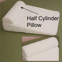 AB Marketers LLC Acid Reflux Support Wedge Pillow - Half Cylinder