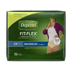 Depend FIT-FLEX Absorbent Underwear For Women
