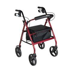 Drive Aluminum Rollator with Removable Wheels