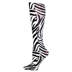 Zebra Fashion Line Compression Socks