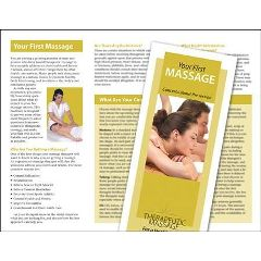 Jji Web Solutions Your First Massage Brochure 50 Pack