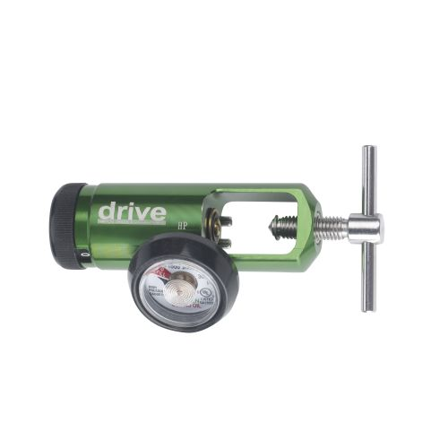 Drive CGA 870 Oxygen Regulator 0-15 LPM Barb Outlet