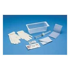 Bardia Foley Insertion Tray without Catheter - 30cc, BZK Swabs