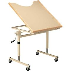 Midland® Wheelchair Work Table Hinged at front