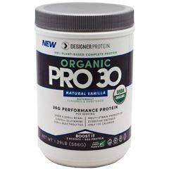 Designer Protein Organic Pro 30 - Natural Vanilla