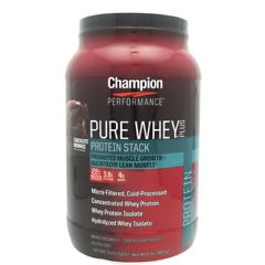 Champion Nutrition Pure Whey Plus - Chocolate Brownie