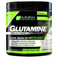Nutrakey L-Glutamine - Unflavored