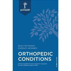 Professional Health System Inc ProHealth Systems Orthopedic Conditions Textbook