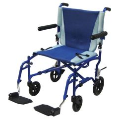 Drive TranSport Aluminum Transport Chair - 19""