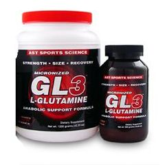 AST GL3 Micronized L-Glutamine