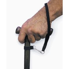 Walking Cane Wrist Strap Accessory - Black