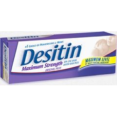 Desitin Maximum Strength Diaper Rash Cream with Zinc Oxide