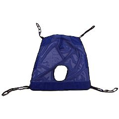 Invacare Full Body Mesh Sling with Commode Opening XXL
