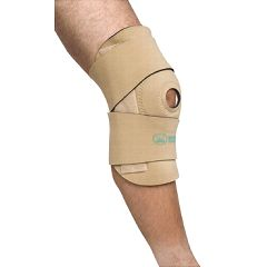 Banyan Health Care Wrap Around Neoprene Knee Brace w/Open Patella & Spiral Stays
