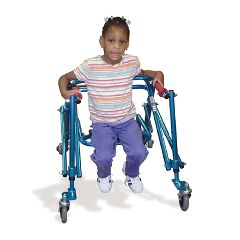 Fabrication Nimbo Posterior Walker, Youth, Blue