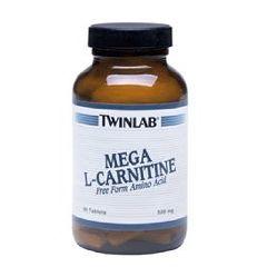 Twin Laboratories Mega L-Carnitine Tabs