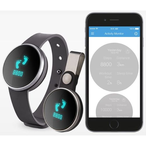 iHealth AM3S Edge Wireless Activity & Sleep Monitor Model 746 574728 01