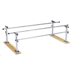 Bailey Manufacturing Folding Parallel Bars With Wood Base