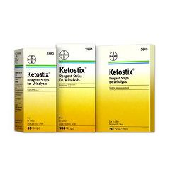 Invacare Supply Group Ketostix Reagent Urine Testing Strips