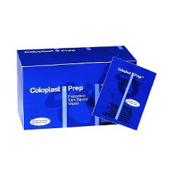 Coloplast Prep Medicated Protective Skin Barrier Wipes