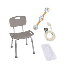 Drive Shower Tub Chair Bathroom Safety Bundle