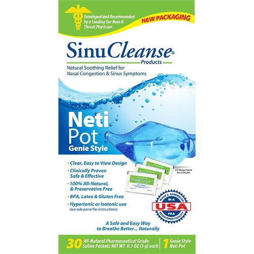 SinuCleanse Neti Pot Nasal Washing System Model 773 0054