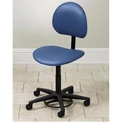 Clinton Industries Hands Free Stool With Backrest
