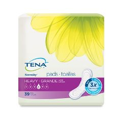 TENA® Serenity® Pads -  Heavy Absorbency Long Length