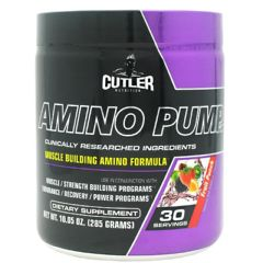 Cutler Nutrition Amino Pump - Fruit Punch