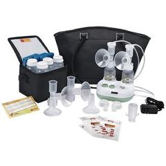 Ameda Purely Yours Ultra Personal Double Electric Breast Pump With
