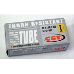 "New Solutions Thorn Resistant Inner Tube - 24"" x 1 3/8"""
